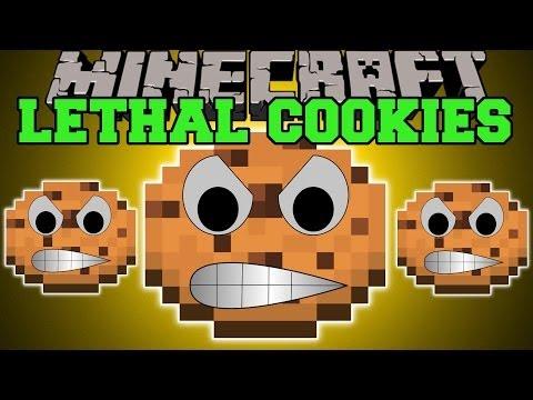 Minecraft: LETHAL COOKIES (NINJA COOKIES, EXPLODING COOKIES, & MORE!) Mod Showcase