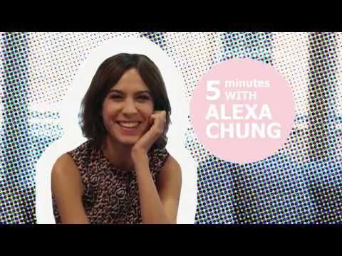 Alexa Chung talks about her girl crush & the wardrobe she would like to raid!