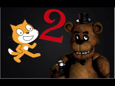 How To make a FNAF Game in Scratch Part 2| Camera buttons!|