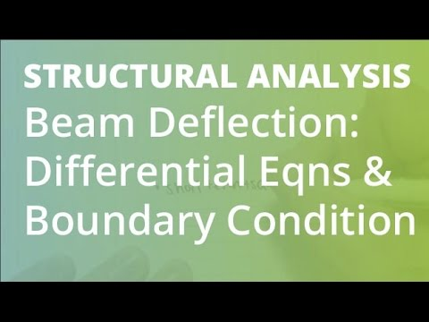 Beam Deflection: Differential Equations & Boundary Conditions | Structural Analysis