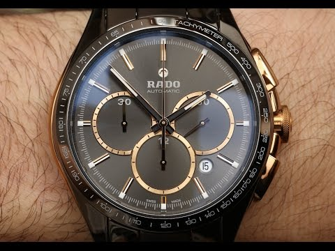Rado HyperChrome Automatic Chronograph Watch Review | aBlogtoWatch