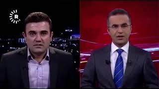 Iraqi Kurdistan Earthquake live during an interview on Rudaw chanel !!