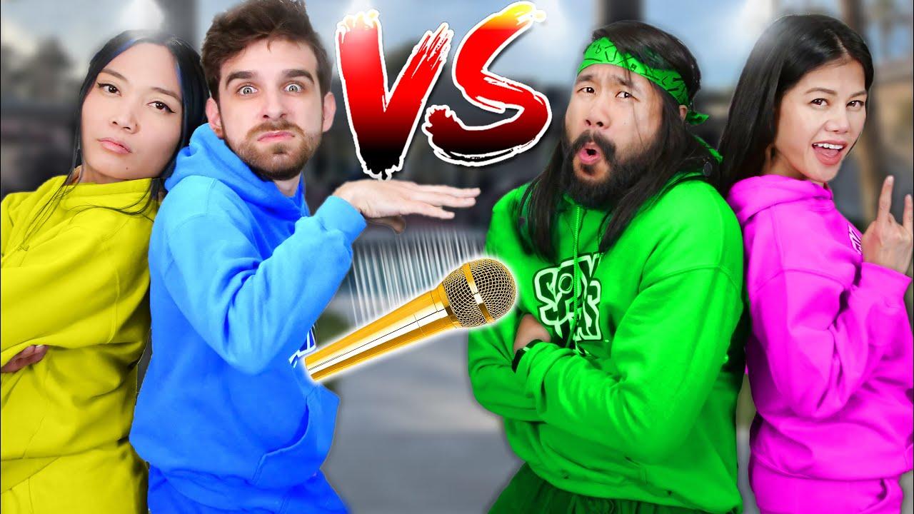 EXTREME RAP BATTLE ROYALE vs SPY NINJAS - Vy Qwaint & Melvin PZ9 vs Daniel & Regina w/ MC CWC