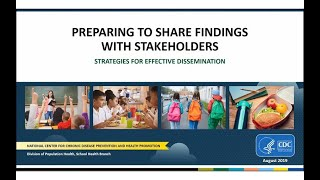 Preparing to Share Findings With Stakeholders
