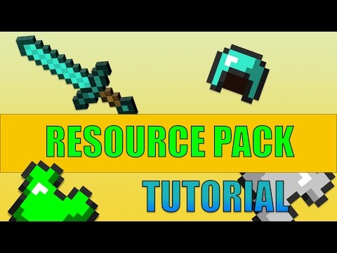 How To Create Your Own Resource Pack [Minecraft Tutorial]!