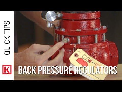 Troubleshooting a Back Pressure Regulator