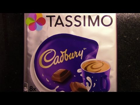 Tassimo Cadbury Hot Chocolate REAL REVIEW