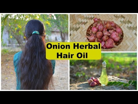 Onion Herbal Hair Growth Oil | Indian Hair Growth Secret For Long, Thick & Fast Hair Growth