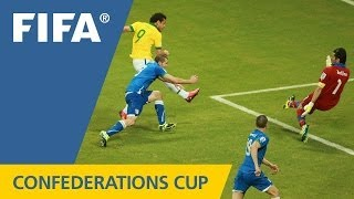 Italy 2:4 Brazil, FIFA Confederations Cup 2013