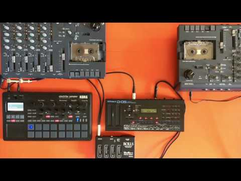 Frippertronics for two 4 Track Cassette Recorders
