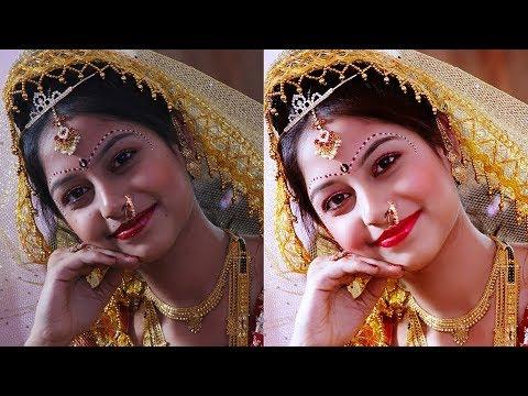 Retouching Tutorial in hindi : Photoshop CS3 & Anurag 10 Work  skin retouching and Makeup