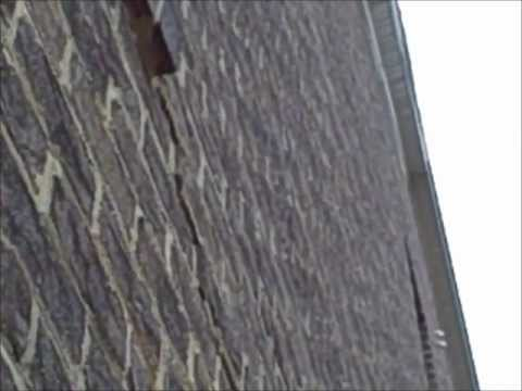 Charlotte Home Inspector Finds crack in exterior brick wall new construction |