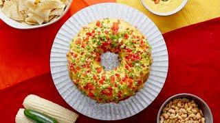 Vegan Jalapeño Cornbread Ring •Tasty