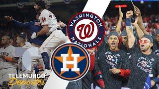 Astros y Nationals, por la gloria en el Clásico de Otoño   Telemundo Deportes