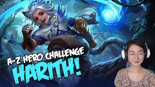 A-Z Hero Challenge | Harith until I Win in Rank!