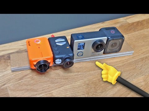 RunCam 2 vs FireFly 6s vs GoPro Hero Session | Quick FX