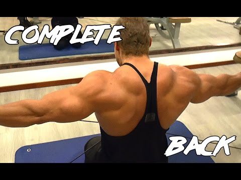 Complete Back Workout (Back Width and Thickness) - Classic Bodybuilding