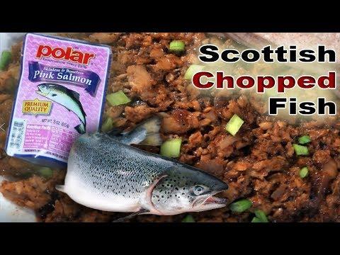Scottish Chopped Fish - Salmon Fish