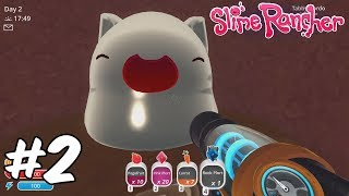 GROWING MY FIRST CARROT! Slime Rancher - Part 2