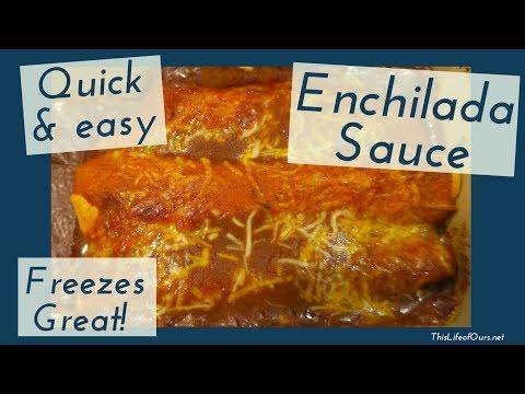 EASY Enchilada Sauce | Freezer-Friendly