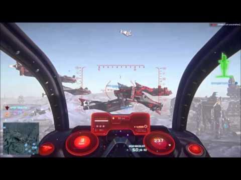Planetside 2 - Galaxy in love / Bad flying skills