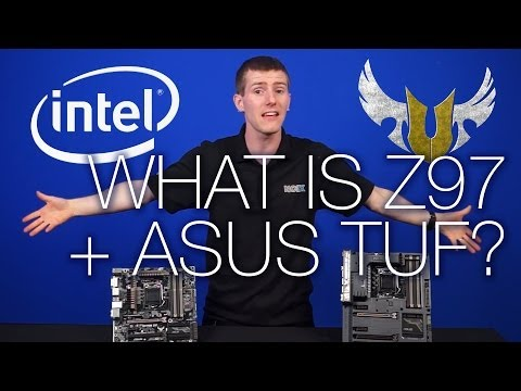 What is the Z97 Express Chipset ft. ASUS TUF Motherboards - Sabertooth + Gryphon