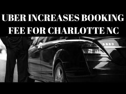 Uber Booking Fee Increase   What it Means For Drivers In Charlotte NC