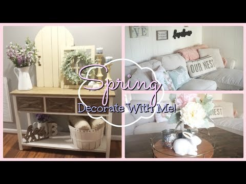 Spring Decorate With Me!