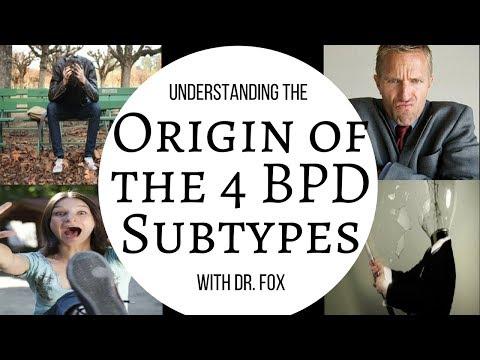 Origins of the 4 BPD Subtypes