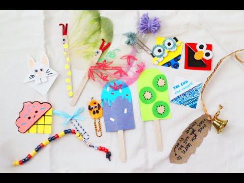 DIY 10+ CREATIVE Bookmark Ideas!!