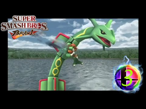 Super Smash Bros. Brawl - Subspace Emissary - 3 - Rayquaza