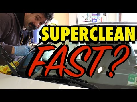 Fastest Way to Super Clean Your Windshield?