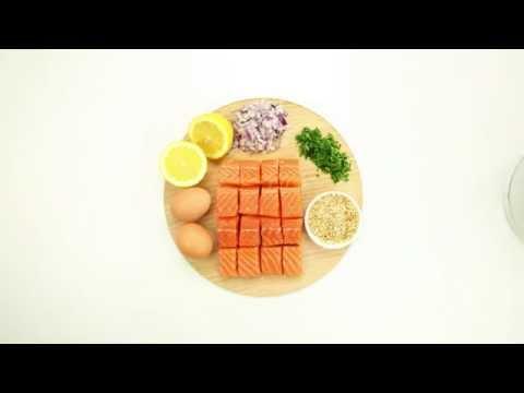 Tassal Salmon Patties Recipe