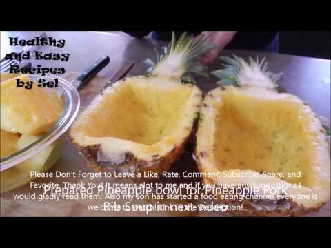 Pineapple Bowls Howto