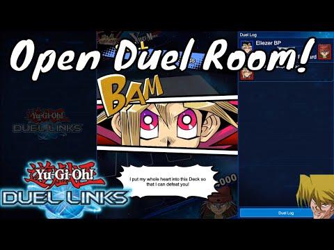 Yugioh Duel Links Season 2 Ep. 9 - Open Duel Room!