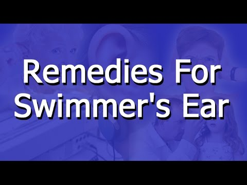 Remedies For Swimmer's Ear