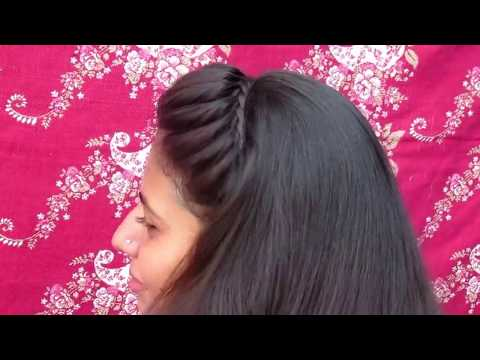 Simple Headband Hairstyle