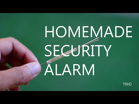 How to make a Simple Door Alarm (HD)