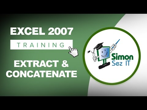 Using the Text Function in Excel to Extract and Concatenate