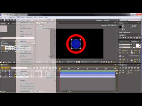 After Effects Tutorial: CS6 New Illustrator Graphic 3D Extrusion -HD-