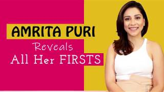 Amrita Puri REVEALS All Her Firsts   First Celebrity Crush, Kiss & More   BOI