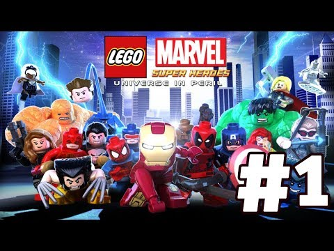 LEGO Marvel Super Heroes: Universe in Peril Walkthrough Part 1 - Sand Central Station HD