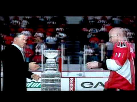 NHL 09 Be a Pro Mode Stanley Cup Win