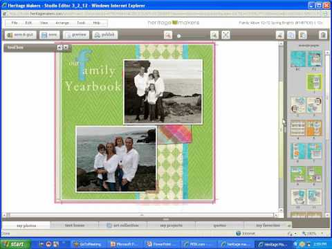 October Demo~ Family Yearbook