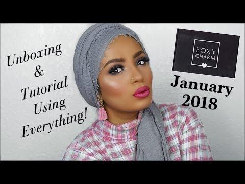 January 2018 BOXYCHARM Unboxing & Tutorial
