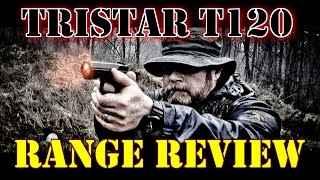 TriStar T-120 by Canik55 Range Review in the Rain!  Let's Do Some SHOOTING
