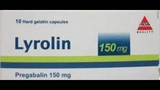 #x202b;ليرولين – Lyrolin  لعلاج التهاب الأعصاب بريجابالين Pregabalin#x202c;lrm;