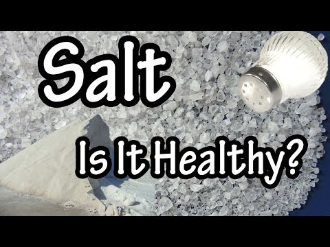 Salt - Sodium Chloride - What is Salt - What Is Sodium Chloride - How Does Salt Raise Blood Pressure