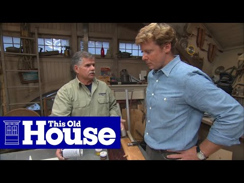 How to Choose and Use Wood Filler - This Old House