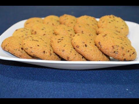 Healthy Flax Seed Cookies | How to make Flax seeds cookies | Homemade cookies